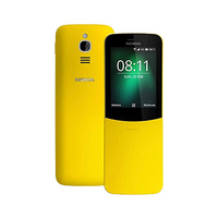 Nokia Mobile Phone 8110 4G TA-1059 Dual Sim Yellow
