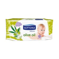 Septona Baby Wipes Olive Oil 60 Sheets