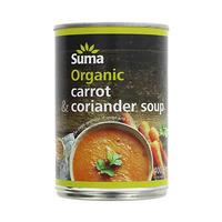 Suma Organic Carrot & Coriander Soup 400GR
