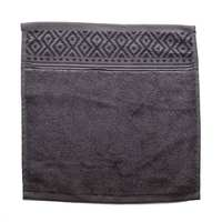 Cannon Face Towel Grey 33X33cm