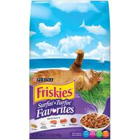 Purina Friskies Surfin' & Turfin' Favourites Cat Dry Food 1.42 Kg