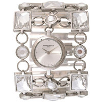 Mount Royale Women's Watch White Dial Stainless Steel Band Dress-20232