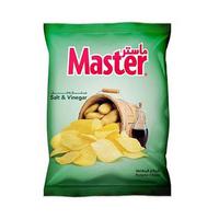 ماستر شيبس بطاطا بنكهة الملح والخل 135 غرام