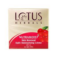 Lotus Herbals Nutramoist Skin Renewal Daily Moisturising crème 50g