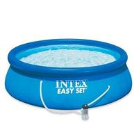 INTEX Easy Set Swimming Pool With Filter Pump 244 X 76 Cm