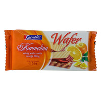 Karmela Karmelina Crispy Wafers With Orange Filling 65g