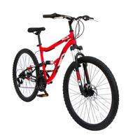 "Spartan 26"" Ridge Mtb Dual Sus Red"