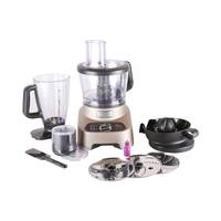 Moulinex Food Processor FP824H 3 Liter 1000 Watt Gold and Black