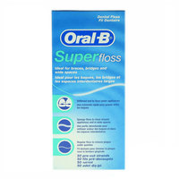 Oral-B Super Floss Dental Floss 50 Pre-Cut Strands