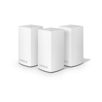 LINKSYS Velop AC3900 Intelligent Mesh Dual Band 3 Pack White