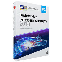 Bitdefender Internet Security 2018- 1 User