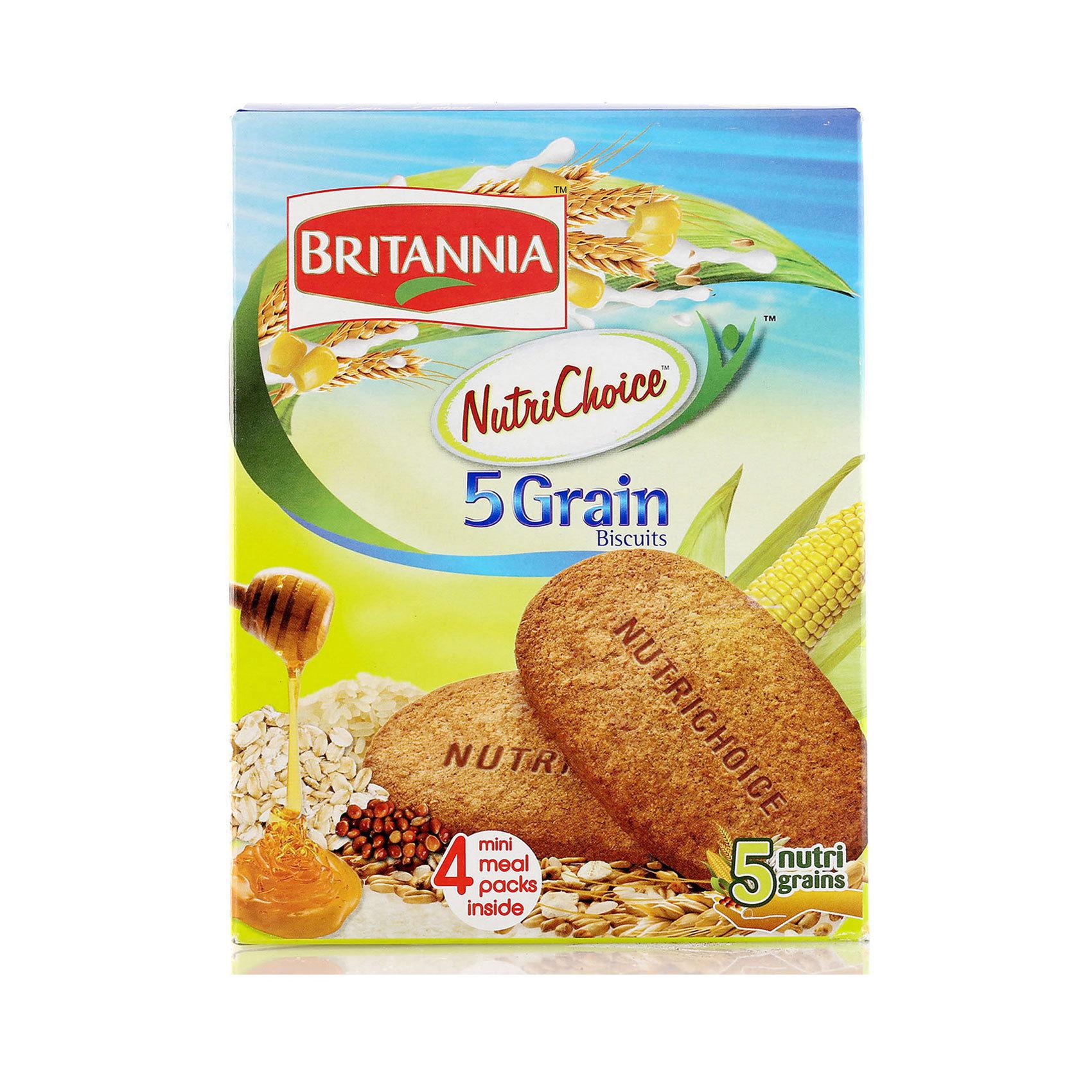 BRITANNIA FIVE GRAIN 200G