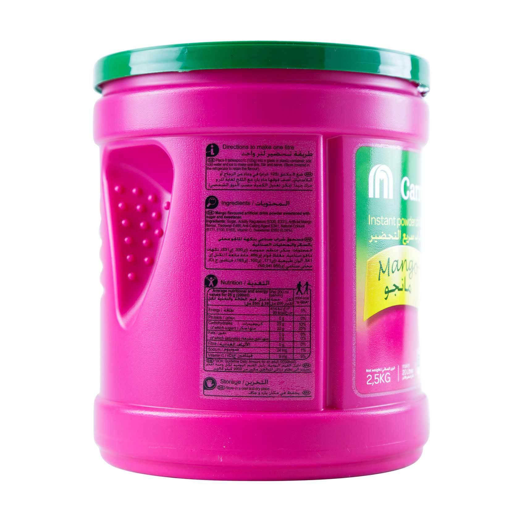 CRF POWDER DRINK MANGO 2.5KG