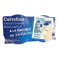 Carrefour Yoghurt Greek 150gX4