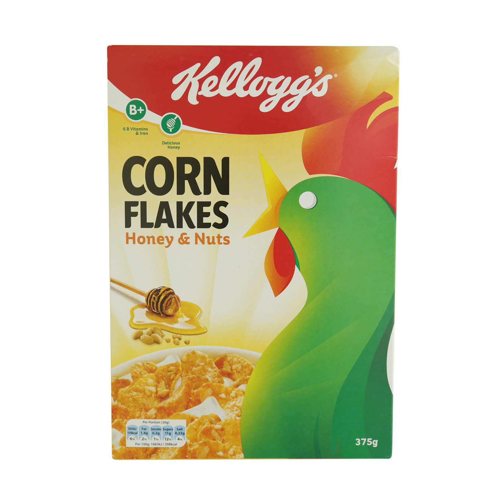 Buy Kellogg39s Corn Flakes Honey Amp Nuts 375g Online In Uae Kelloggs Deal And