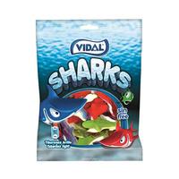 فيدال حلوى الجيلي اسماك القرش خاليه من الغلوتين 100 غرام