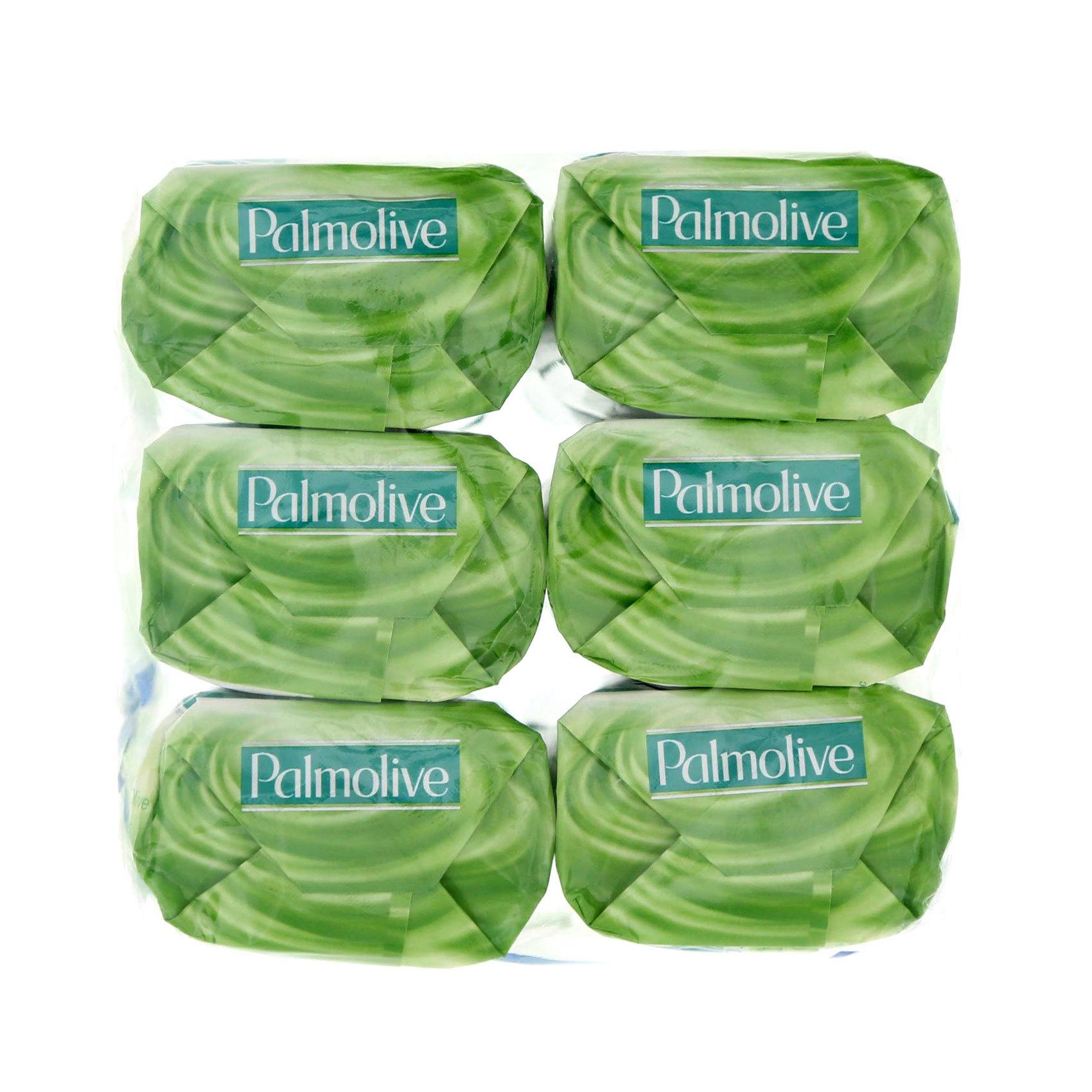 PALMOLIVE SOAP ALOE ND OLIV 170GX6
