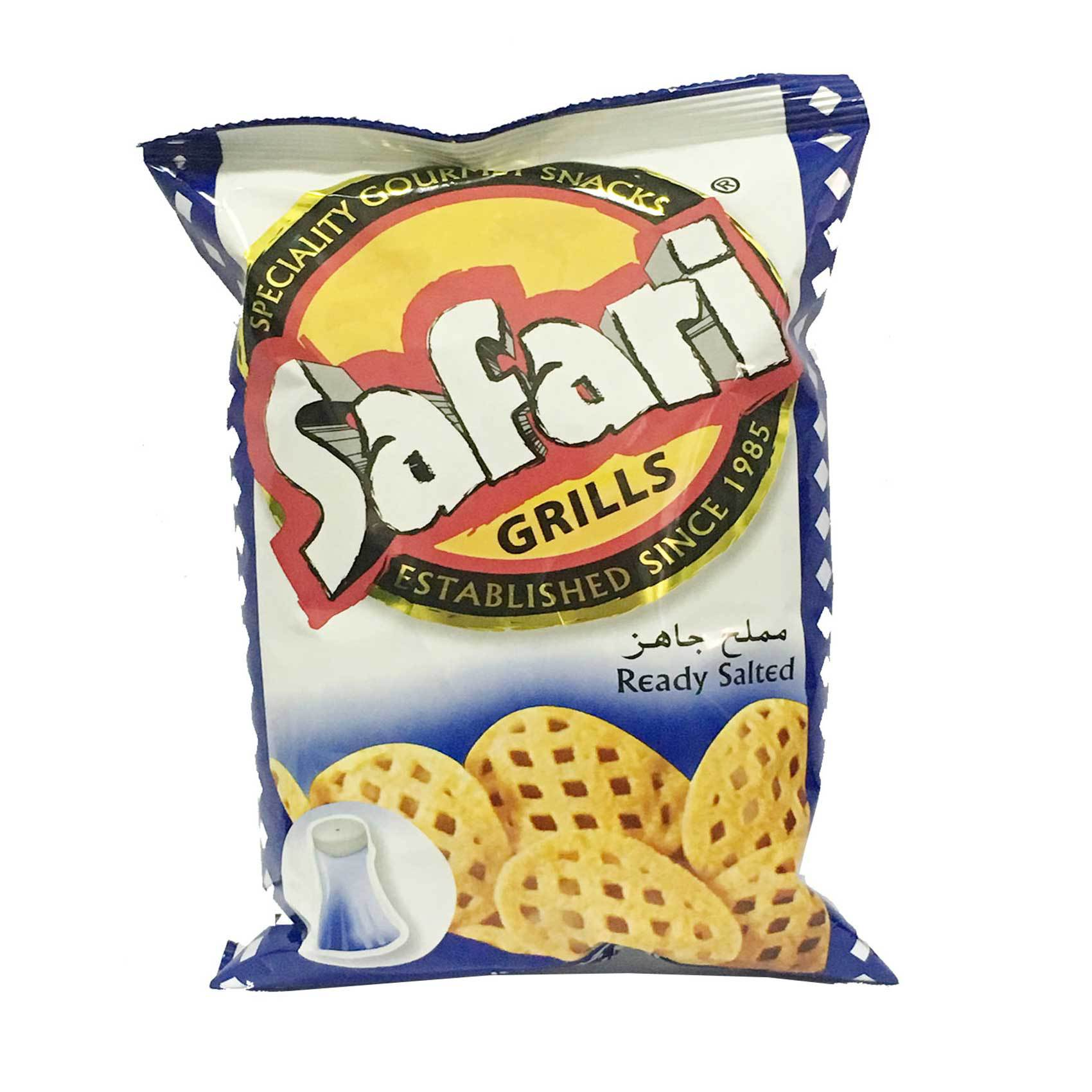SAFARI POTATO GRILLS SALT 70GR