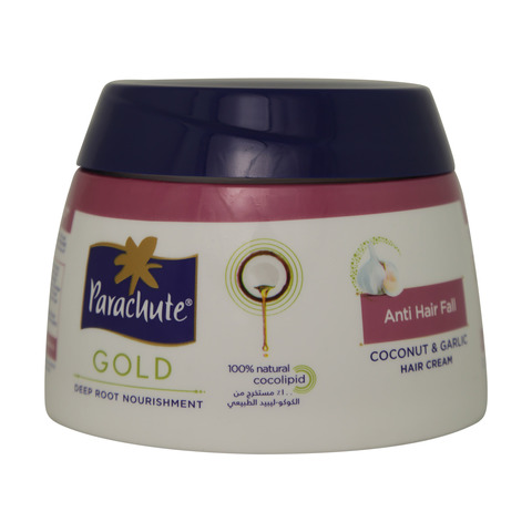Parachute-Gold-Anti-Hair-Fall-Coconut-And-Garlic-Hair-Cream-140ml