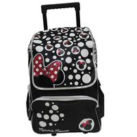"""Minnie Adult - Trolley Bag 18"""" Bk"""