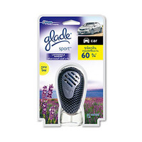 Glade Car Air Freshener Auto Sport Lavender 7ML