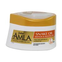 Dabur Amla Styling Hair Cream Snake Oil Repair & Revitalise 140ml