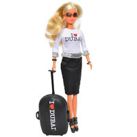 Simba - I Love Dubai Steffi Love Doll With Trolley