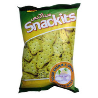 Nabil Snackits Sour Cream & Onion Biscuits 40g