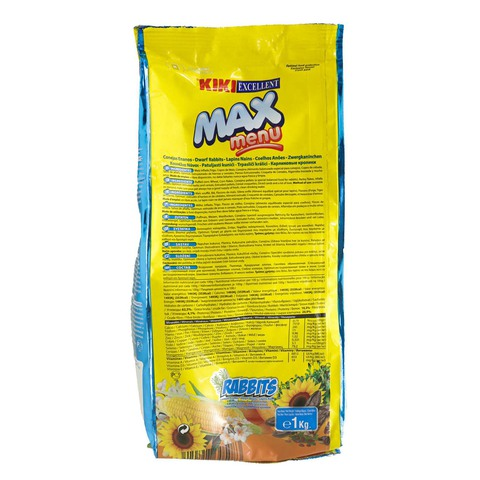 Kiki-Excellent-Max-Menu-Rabbits-Food-1Kg