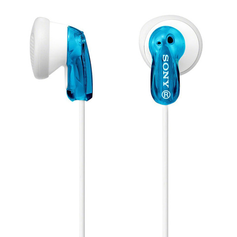 Sony-Earphone-MDRE9-Blue
