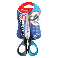 Maped Scissors Sen Soft Flex 13Cm