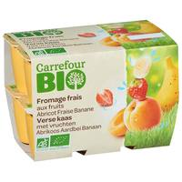 Carrefour Bio Organic Fresh Cheese with Fruits 50gx12