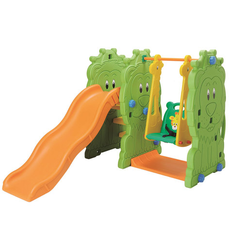 Chamdol-Lion-Star-Slide-+-Swing-2-seat