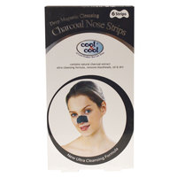 Cool & Cool Charcoal Nose Strips X6