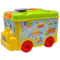Goldkids Funny Bus 110Pc Block