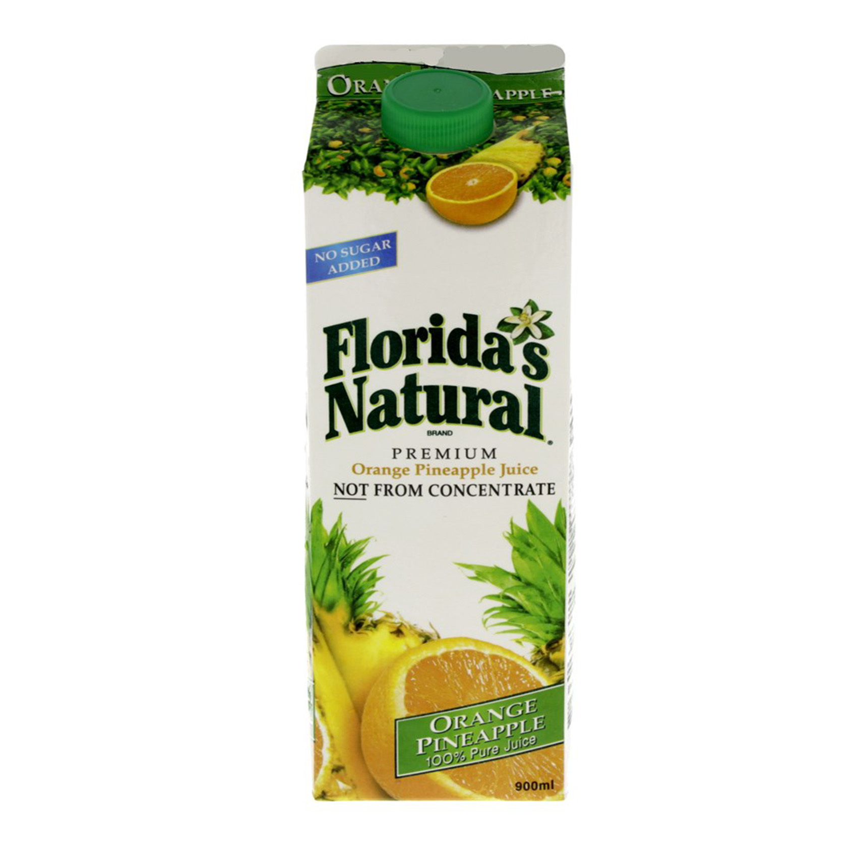FLORIDA JUICE ORANGE PINEAPPLE 0.9L