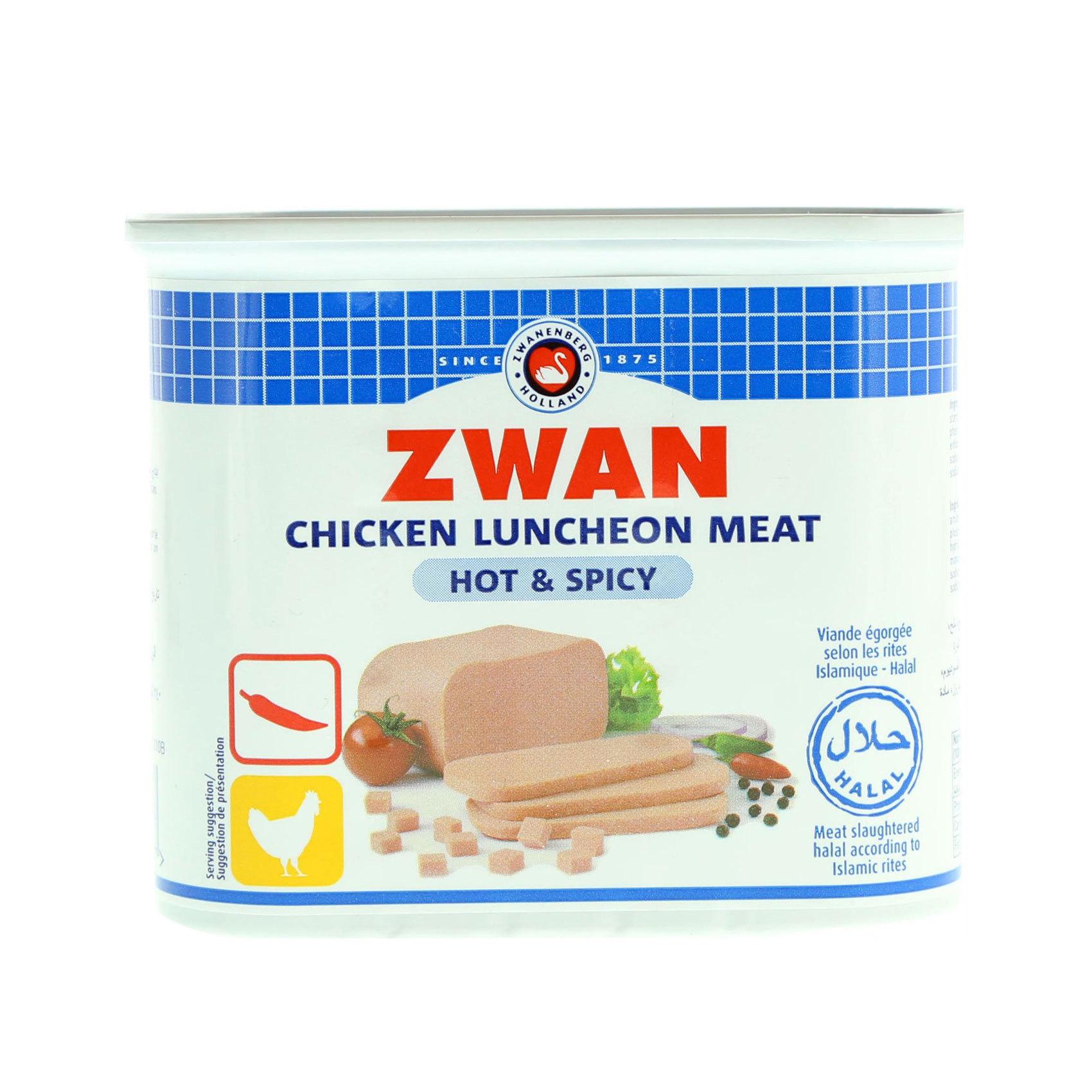 ZWAN LUNCHEON MEAT CHKN H/S 340G