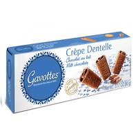 Gavottes Crispy Crepe Biscuits Milk Chocolate 90g