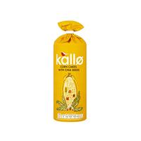 Kallo Corn Cakes With Chia 130GR