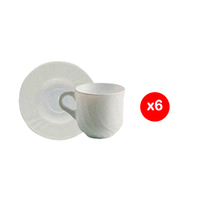 Bormioli Ebro Cup Tea 6 Pieces