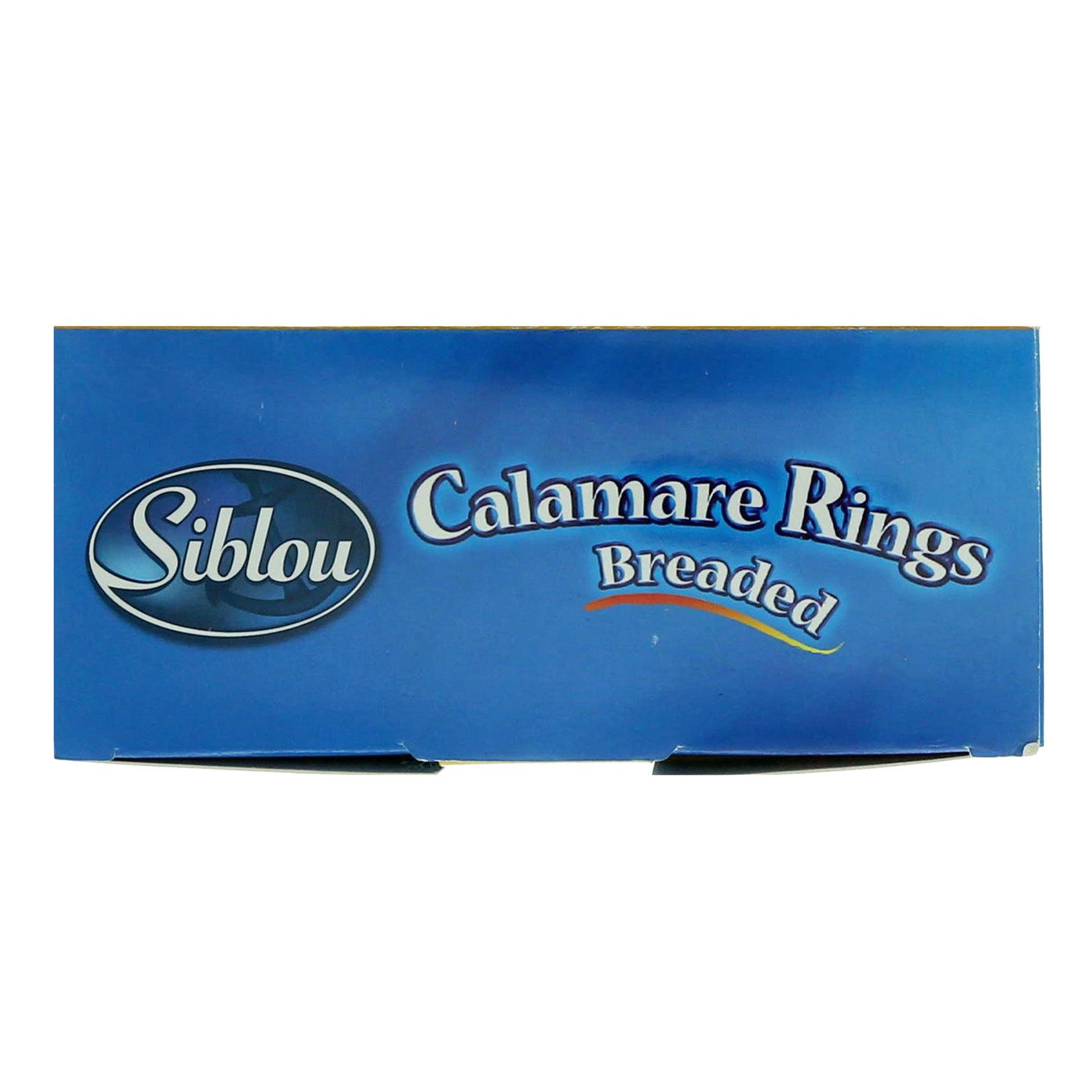 SIBLOU BREADED CALAMARI 400G