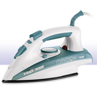 Black+Decker Steam Iron X1600