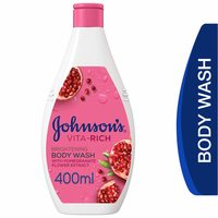 Johnson's Body Wash Vita-Rich Brightening with Pomegranate Flower Extract 400ml