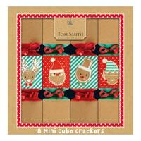 """Tom Smith  8X8"""" Luxury Kraftyxmas Mini Crackers"""