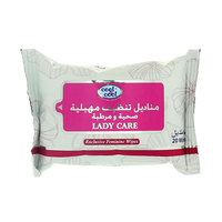 Cool & Cool Lady Care Exclusive Feminine 20 Wipes