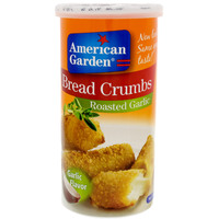 American Garden Roasted Garlic Bread Crumbs 425g