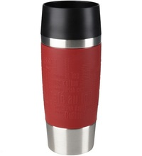 Tefal Travel Mug Silver 0.36 Liter Red