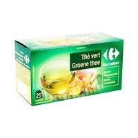 Carrefour Tea Vert Ananas Pamplemousse 25 Sachets