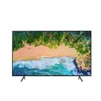 تلفزيون سامسونج سمارت بشاشة ألترا إتش دي حجم 75 إنش موديل UA75NU7100RXTW لون أسود