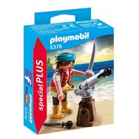Playmobil Special Plus Pirate with Cannon